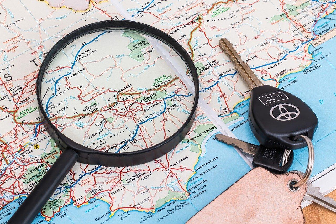 2 pianificare il viaggio in auto