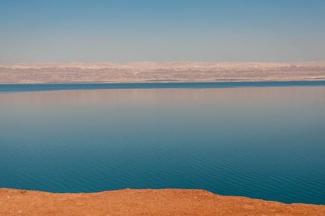 mar morto amman giordania vista