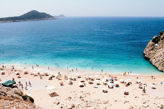 spiaggia di Antalya, turchia