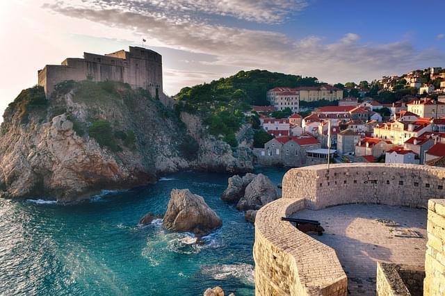 mare di dubrovnik croazia
