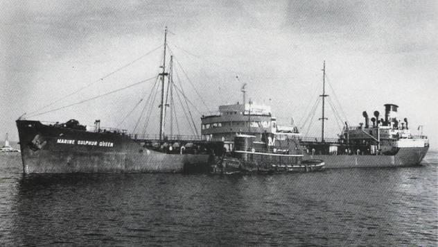 Nave da Cargo Marine Sulphur Queen