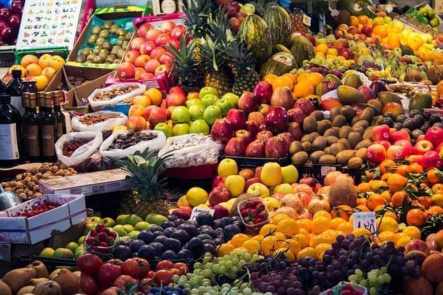 marocco mercato frutta verdura
