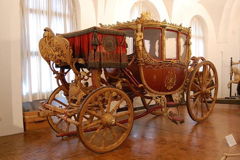 marstallmuseum nymphenburg carrozza