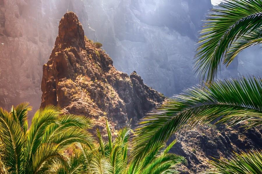 panorama dall'alto di Tenerife