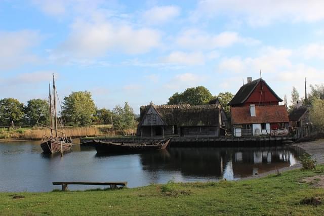 medieval town at middelaldercentret 1