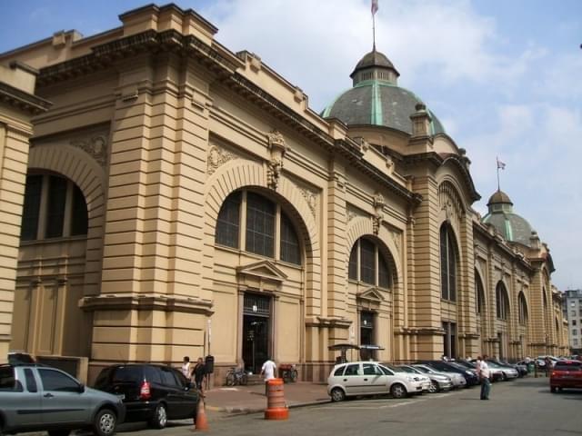 mercado municipal sao paolo fachada rua da cantareira