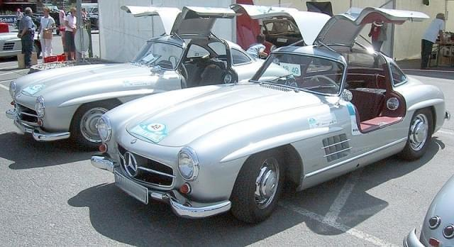 mercedes benz 300sl coupe 1955 1956