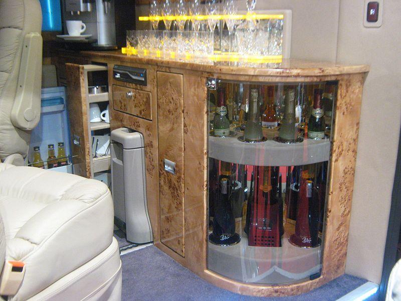 Cibo e bevande dal mini bar