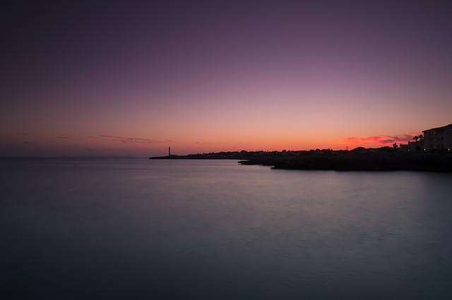 minorca tramonto