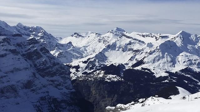 montagna neve grindelwald