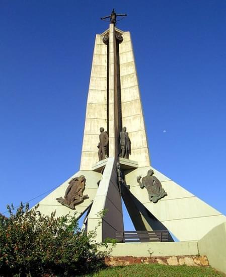 monumento paz victoriosa cerro lambare