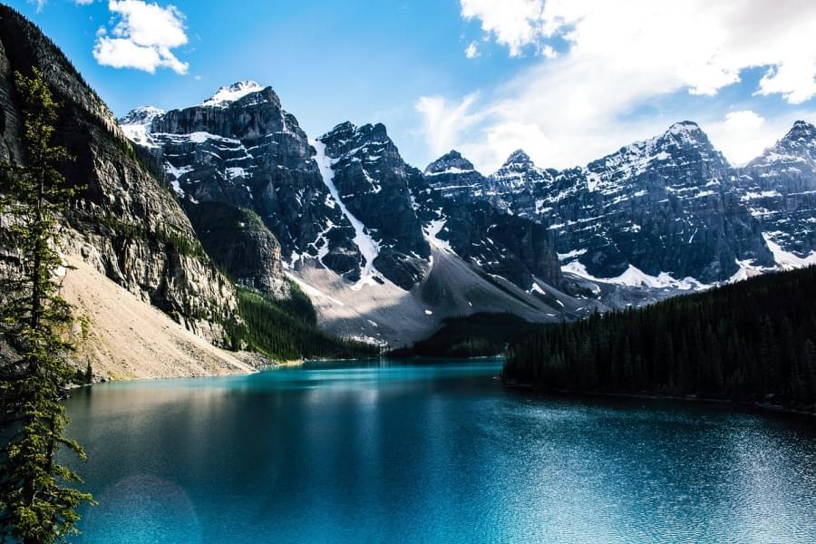Sesto posto morainee lake canada