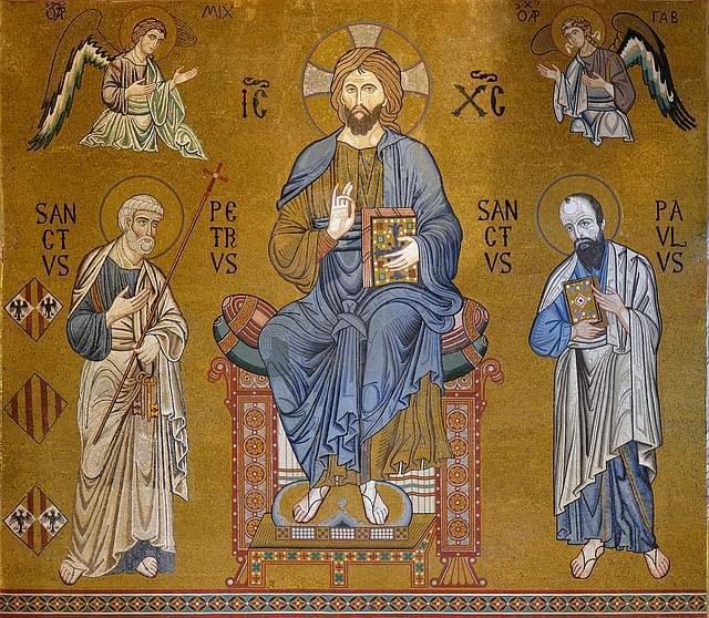 mosaico cappella palatina