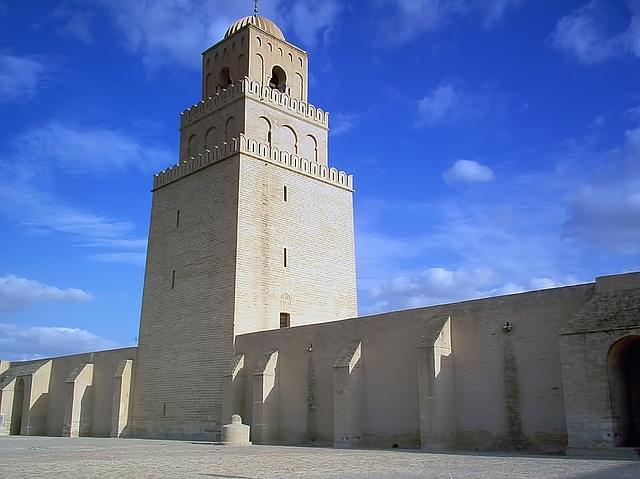 moschea grande torre kairouan