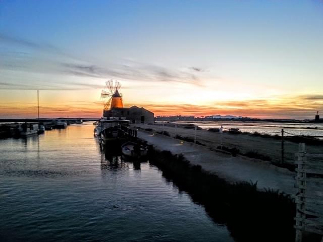 mozia sicilia tramonto seasalt