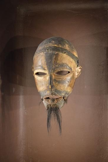 musee du quai branly kongo mask