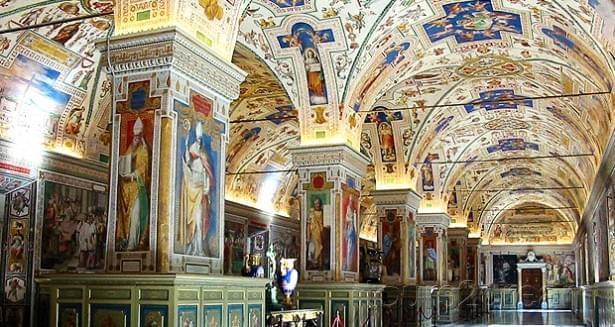 Interni dei Musei Vaticani