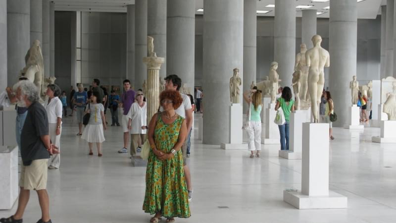 museo dell acropoli di atene interni