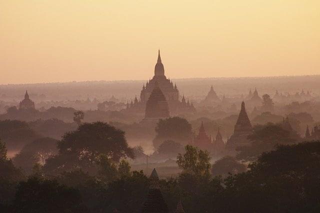 myanmar birmania tempio bagan