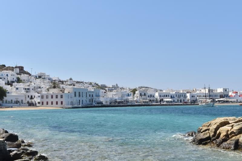 mykonos grecia isola
