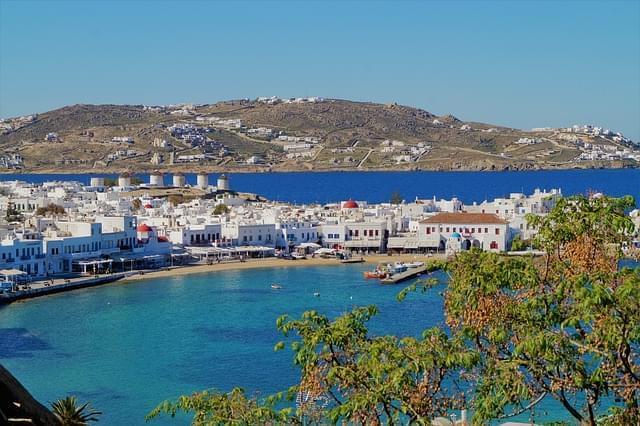 mykonos grecia mare bianco turismo