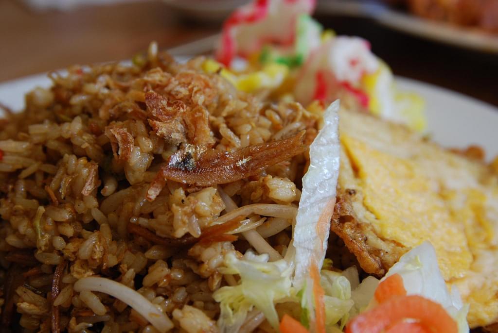 nasi goreng pollo