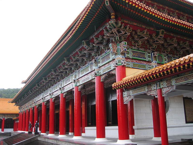 il national revolutionary martyrs shrine, tributo ai caduti di taiwan