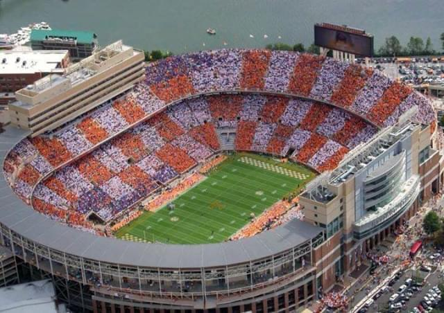 neyland aerial view of checkerboard