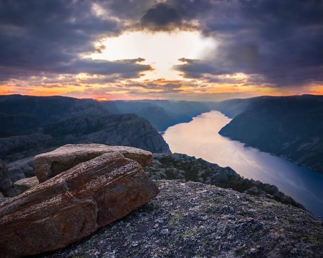 norvegia paesaggio fiordi