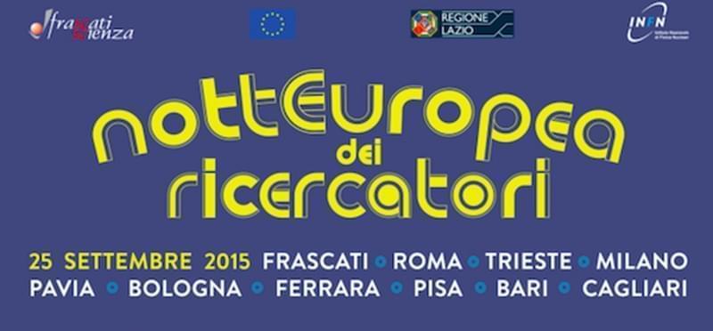 Locandina Notte Europea dei Ricercatori