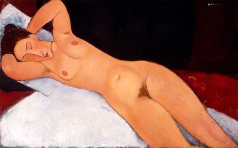 nudo sdraiato