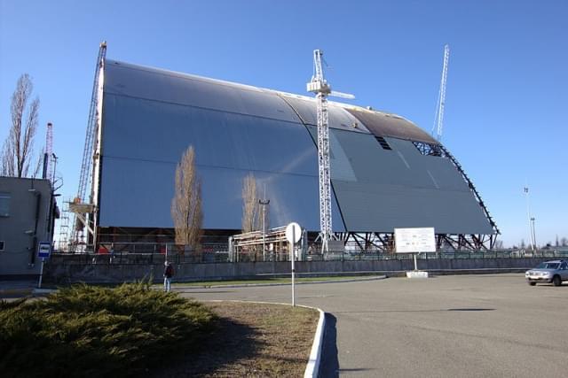 nuovo sarcofago chernobyl