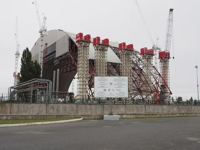 nuovo sarcofago reattore 4 chernobyl