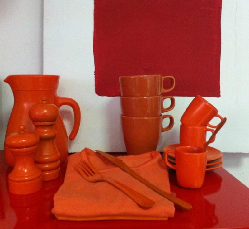 oggetti rossi