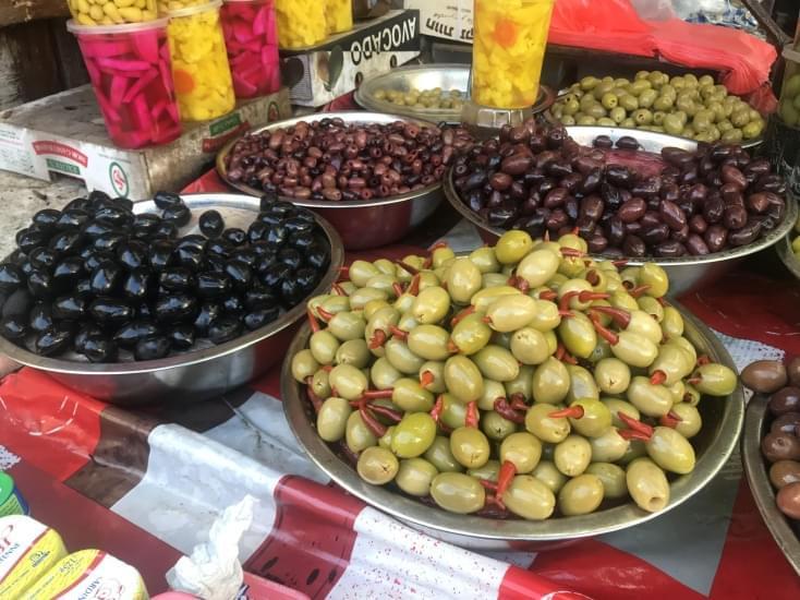 olive cibo israele