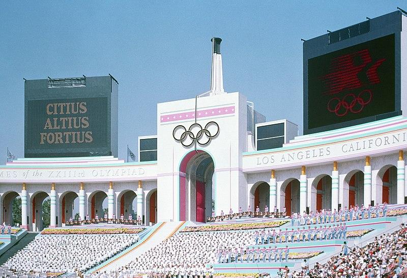 Cerimonia inaugurale delle Olimpiadi del 1984