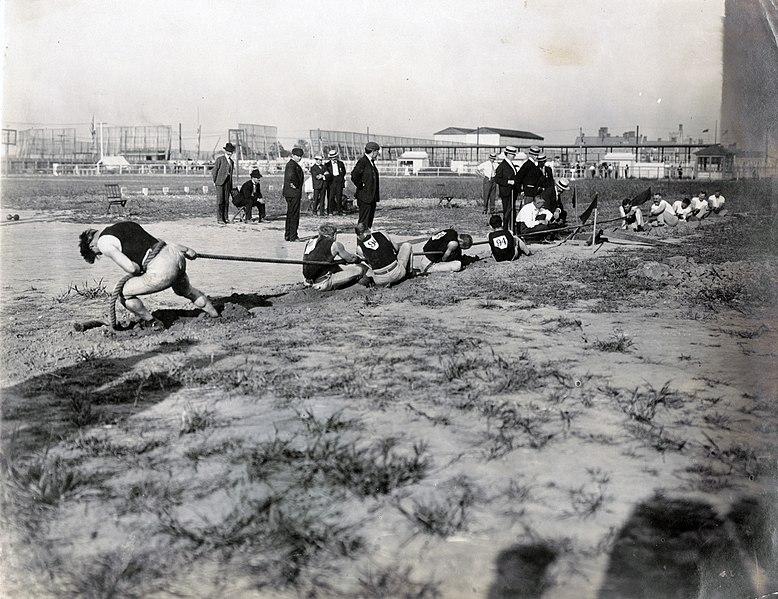 La squadra americana di pallanuoto del1904