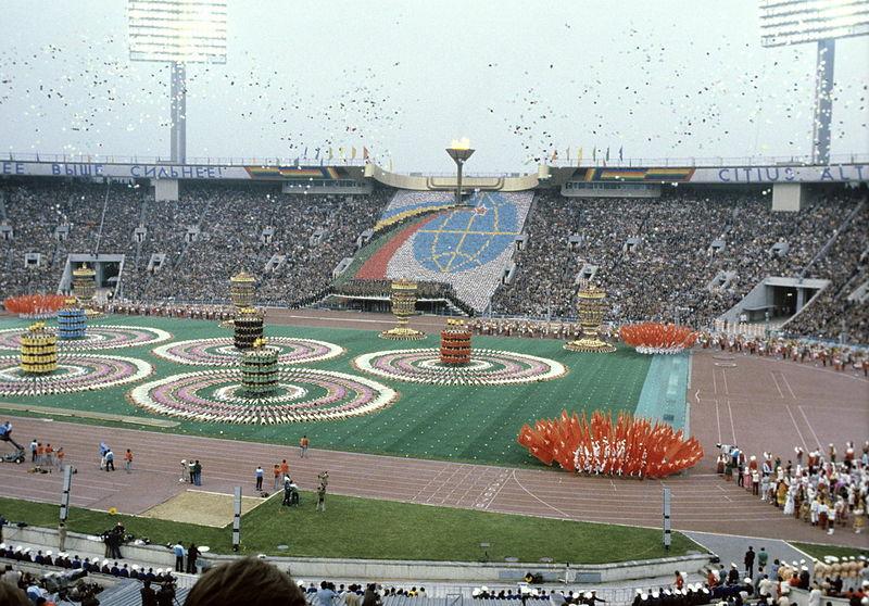 Cerimonia di apertura dei Giochi di Mosca