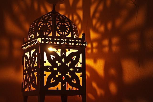 oriente orientale lanterna lanterna