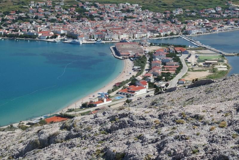 pag isola citta croazia