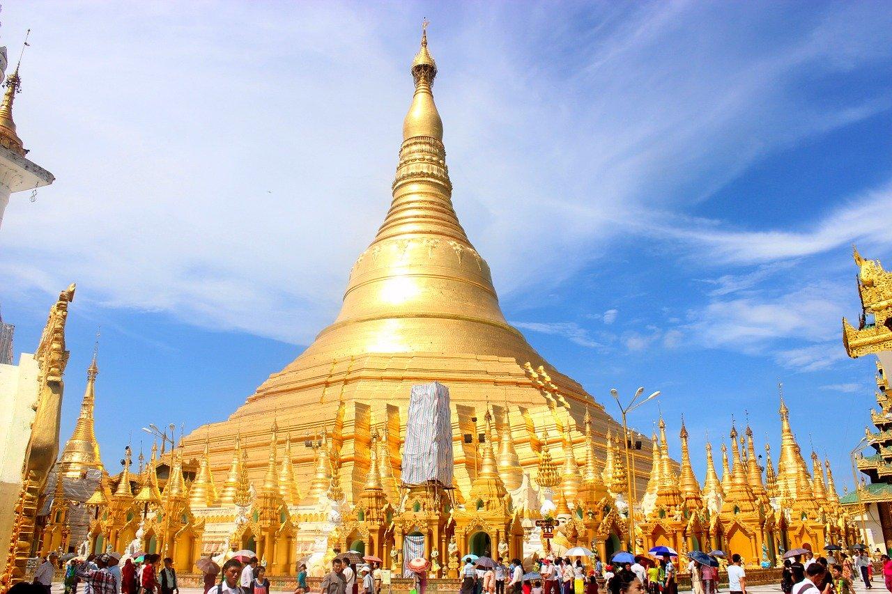 Shwedagon Pagoda, Birmania