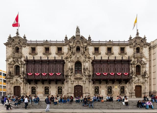 palazzo arcivescovile lima