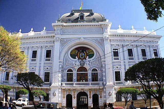 palacio de la prefectura sucre bolivia
