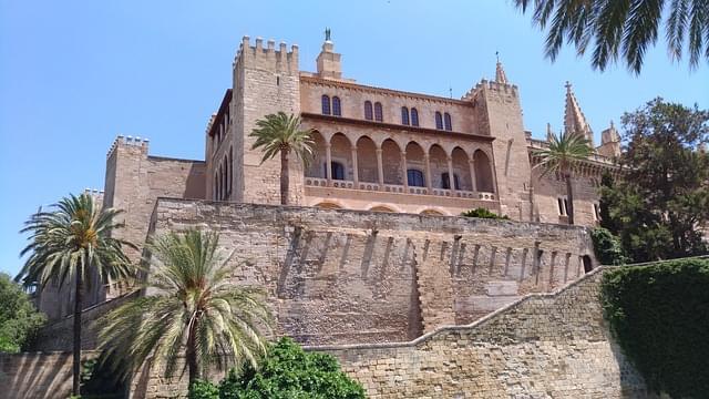 palama maiorca palazzo mussulmano