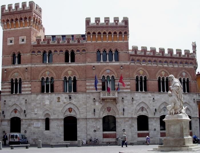 palazzo aldobrandeschi grosseto