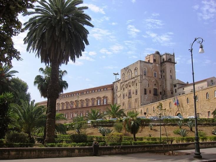 palazzo normanni facciata principale
