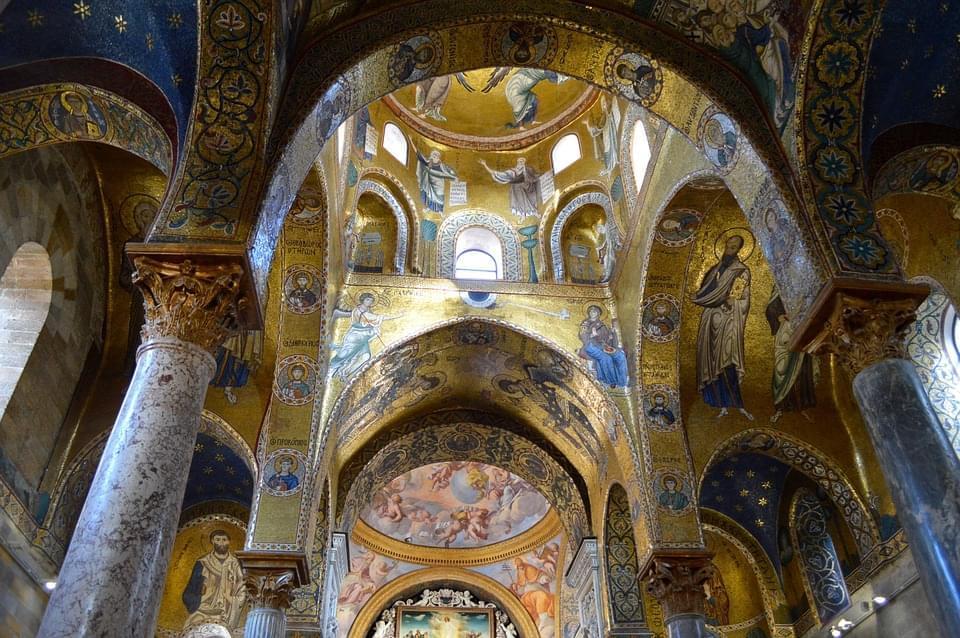 palermo mosaici chiesa martorana