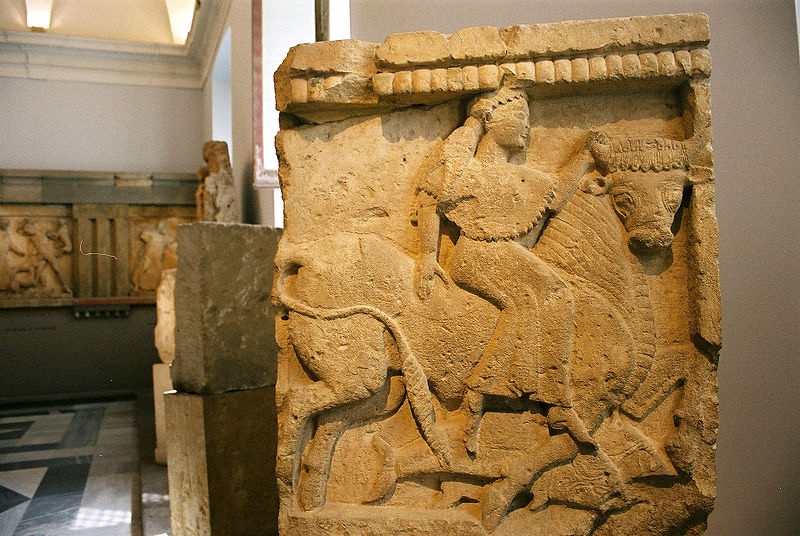 Cortile museo archeologico Salinas palermo