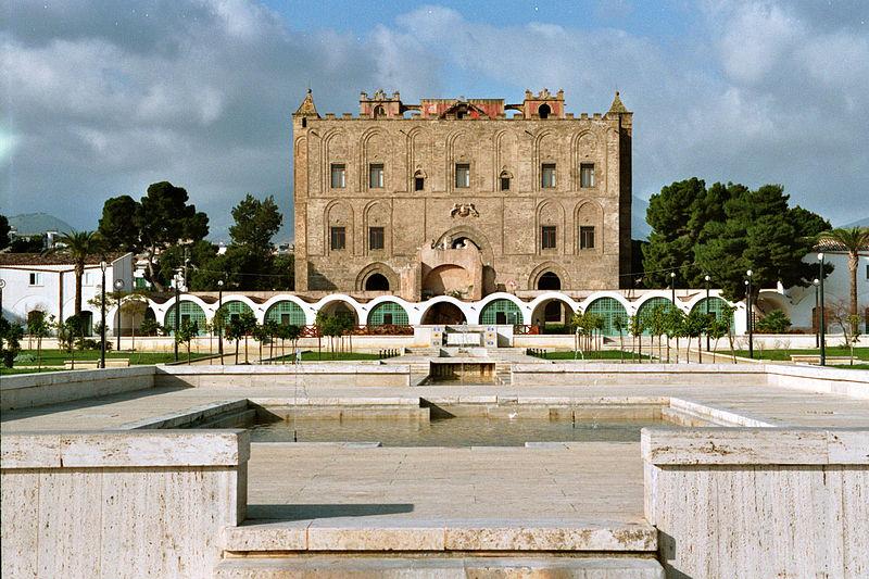 Esterno castello della zisa palermo
