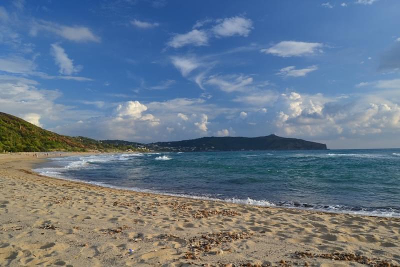 Spiaggia delle Saline di Palinuro